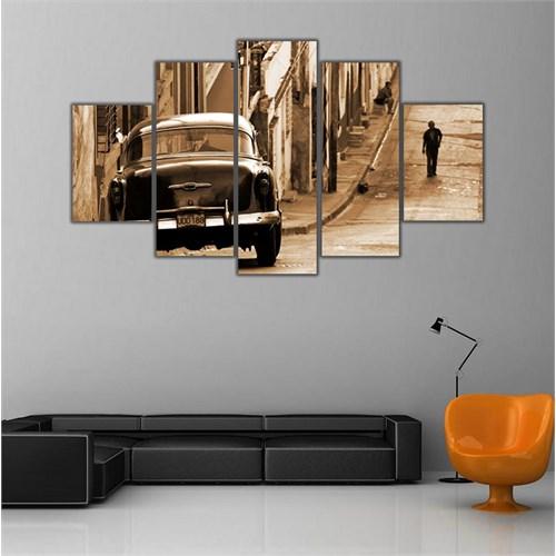 Ritmo Canvas Küba Ve Yalnız Adam Canvas Tablo
