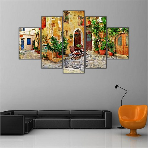 Ritmo Canvas Akdeniz Sokağı Canvas Tablo