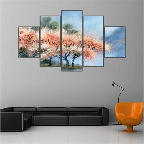 Ritmo Canvas Pastel Ağaçlar Canvas Tablo