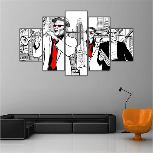 Ritmo Canvas New York Ve Jazz Canvas Tablo