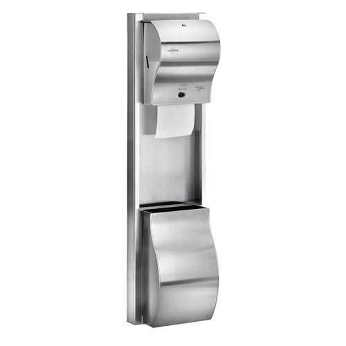 Rulopak Sıva Üstü Paslanmaz Havlu Makinesi Seti
