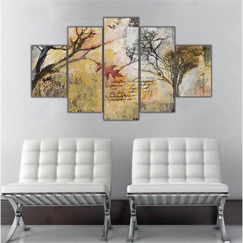 Ritmo Canvas Ağaçlar Canvas Tablo
