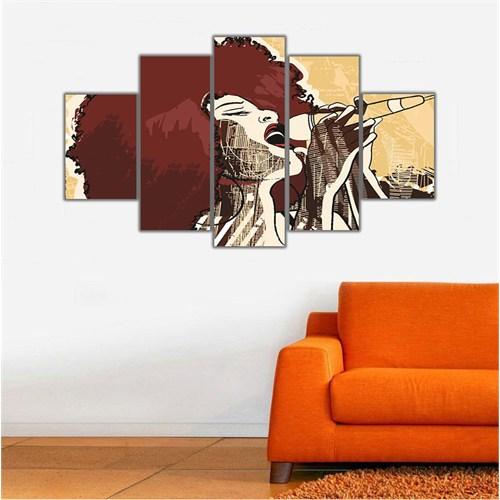 Ritmo Canvas Jazz Şarkıcısı Canvas Tablo