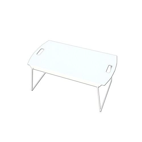 Asortics Tılt-B Beyaz Masa+Sehpa