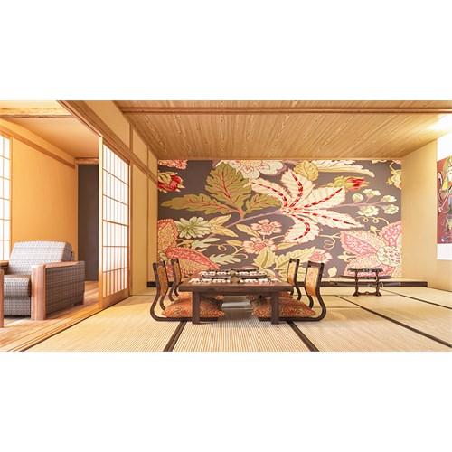 Iwall Resimli Dekoratif Çiçekler Duvar Kağıdı 370X250
