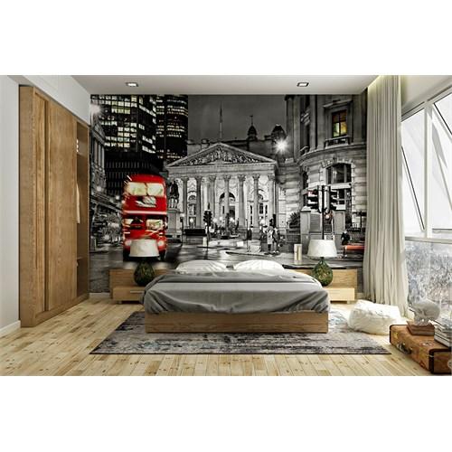 Iwall Resimli Gece Ve Şehir Duvar Kağıdı 180X130
