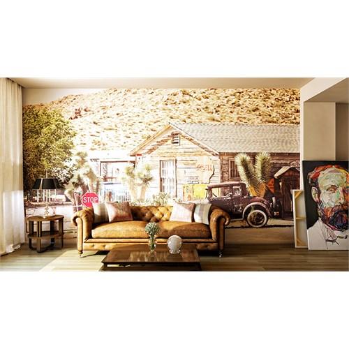 Iwall Resimli Kulübe Duvar Kağıdı 180X130