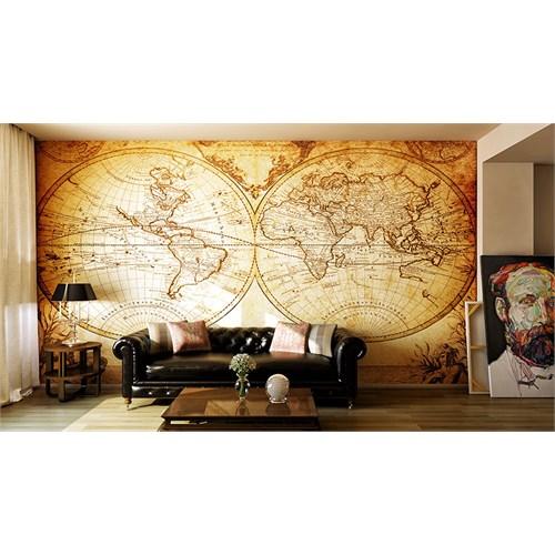 Iwall Resimli Maps Duvar Kağıdı 370X250