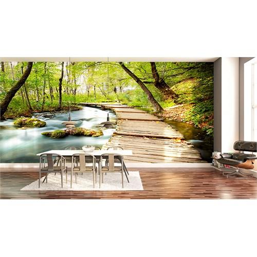 Iwall Resimli Orman Duvar Kağıdı 180X130