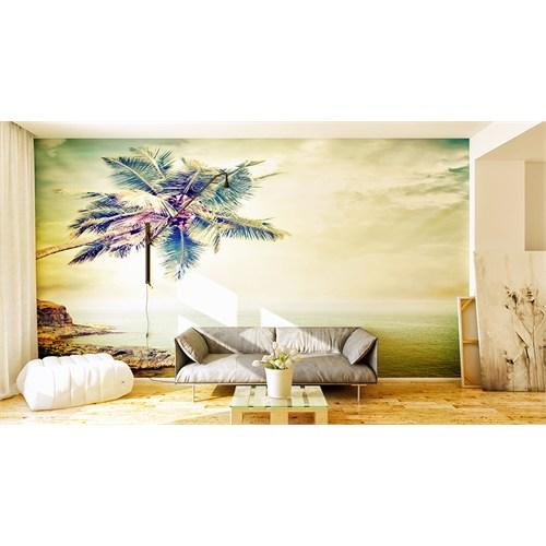 Iwall Resimli Palmiye Duvar Kağıdı 180X130