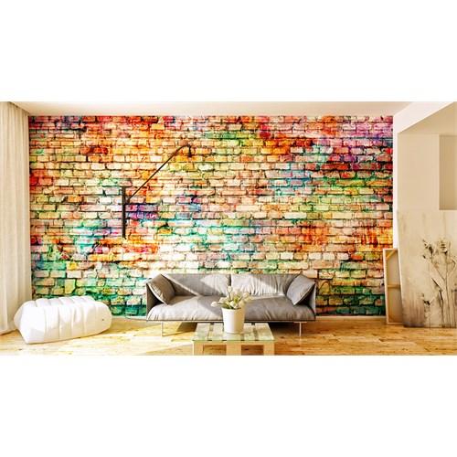 Iwall Resimli Renkli Duvar Kağıdı 180X130
