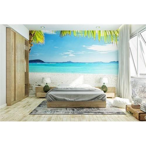 Iwall Resimli Sahil Duvar Kağıdı 180X130