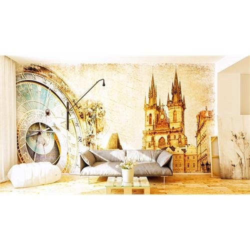 Iwall Resimli Şato Duvar Kağıdı 180X130