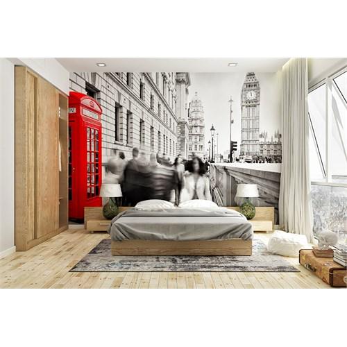 Iwall Resimli Şehir Duvar Kağıdı 250X180