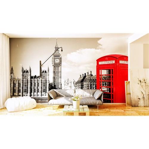 Iwall Resimli Telefon Kulubesi Duvar Kağıdı 250X180