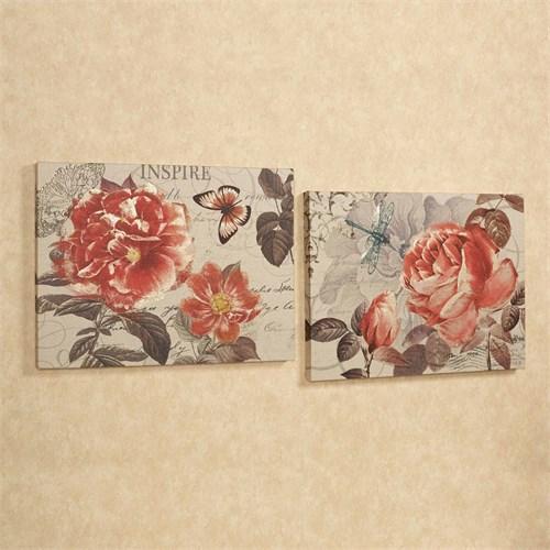 Artredgallery İki Parça 40X80 Fineart Tablo