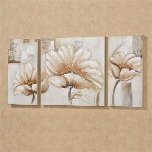Artredgallery Üç Parça 50X90 Fineart Tablo