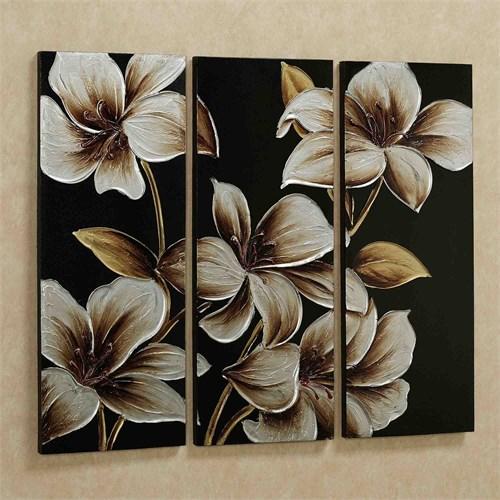 Artredgallery Üç Parça 70X60 Fineart Tablo