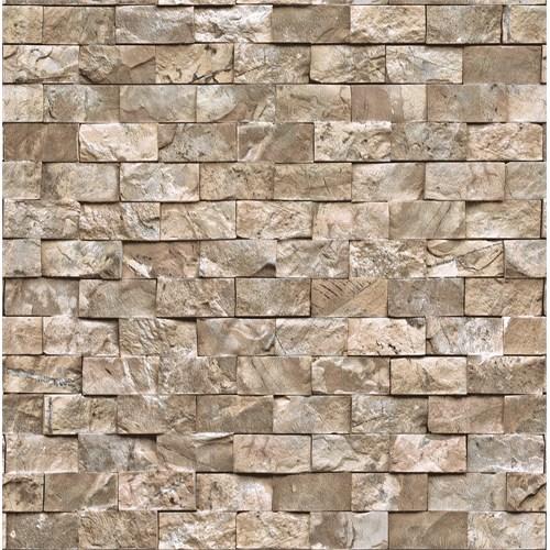 Bien Wallpaper 9100 Taş Desen Duvar Kağıdı