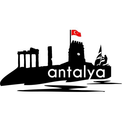 Sticker Masters Antalya Siluet Duvar Sticker