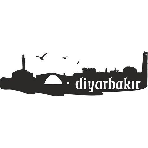 Sticker Masters Diyarbakır Siluet Duvar Sticker