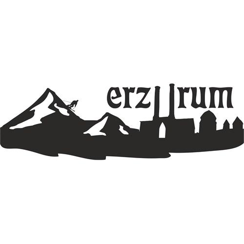 Sticker Masters Erzurum Siluet Duvar Sticker