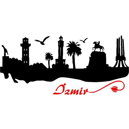 Sticker Masters İzmir Siluet Duvar Sticker