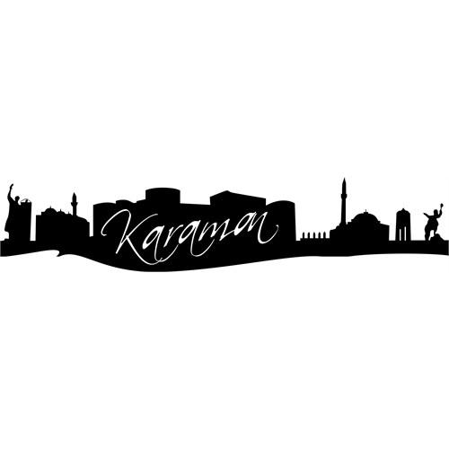 Sticker Masters Karaman Silueti Duvar Sticker