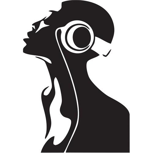 Sticker Masters Müzik Trans Duvar Sticker