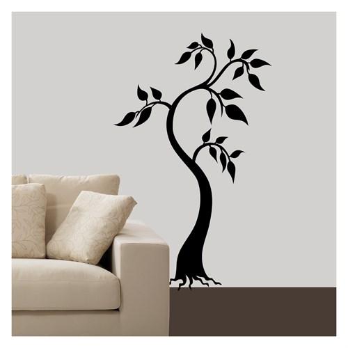 Artikel Zeytin Ağacı Kadife Duvar Sticker Dp-031 ve Tuz boyama