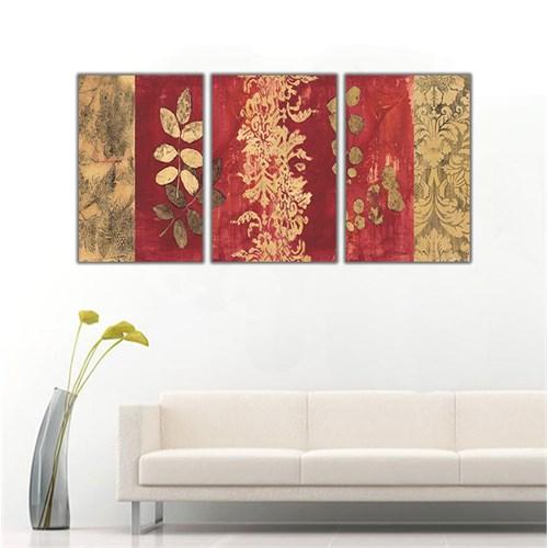 Ritmo Canvas Dekoratif Çiçek Kanvas Tablo