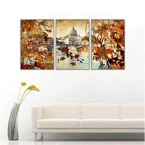 Ritmo Canvas Nostaljik Paris Kanvas Tablo