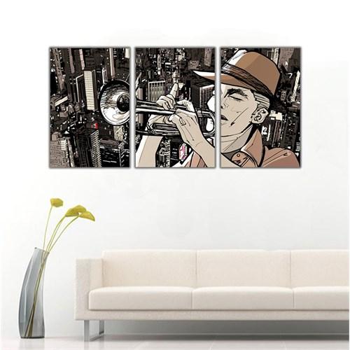 Ritmo Canvas Trompetçi Kanvas Tablo