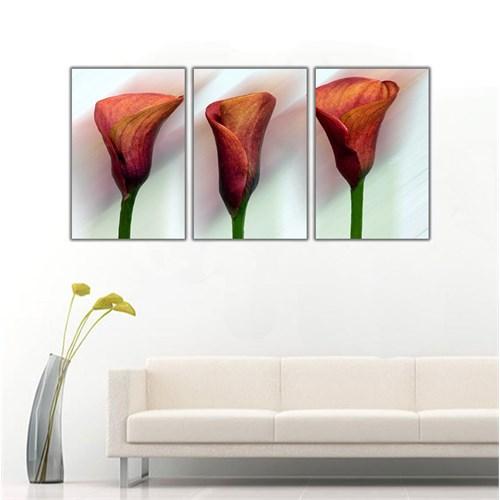 Ritmo Canvas Çiçekler Kanvas Tablo