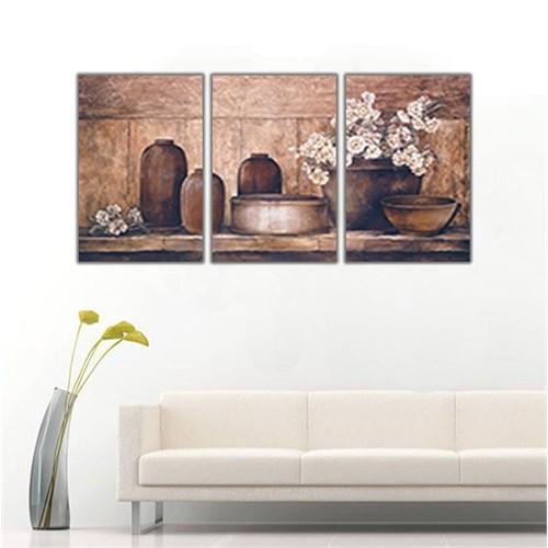 Ritmo Canvas Dekoratif Saksı Kanvas Tablo