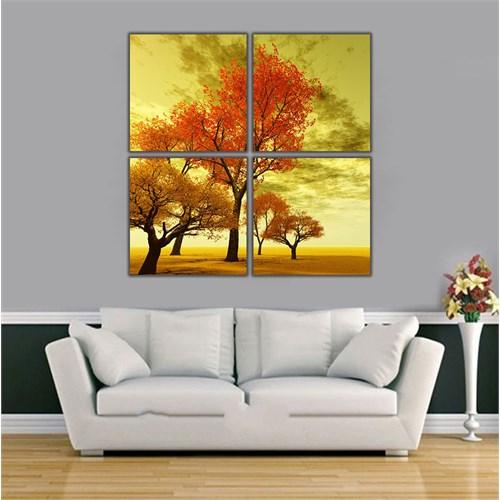 Ritmo Canvas Ağaç Kanvas Tablo