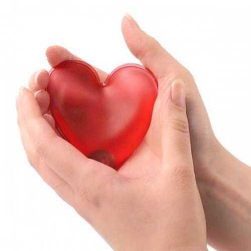 Uygun Kalp Şeklinde Sihirli Jel Isıtıcı