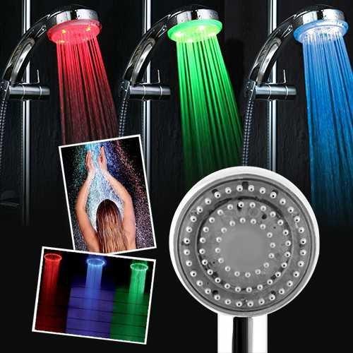 Uygun Renk Değiştiren Duş Başlığı Led Işıklı