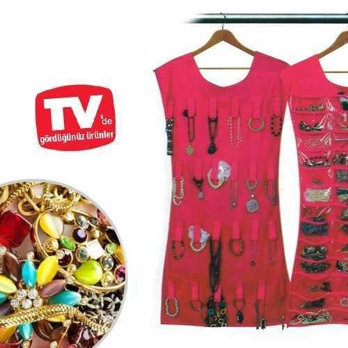 Uygun Elbise Şeklinde Mücevher Takı Düzenleyici