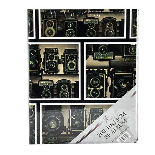 Adell Foto 200'Lük 10X15cm Fot. Makine Desenli Albüm