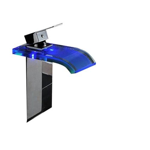 Ayaz L003 Led Şelale Çanak Lavabo Banyo Bataryası