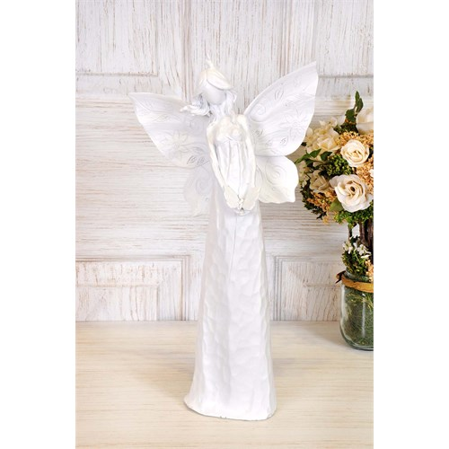 The Mia Angel Dekor - Beyaz