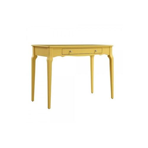 Woodenbend Bonamy Sarı Çalışma Masası