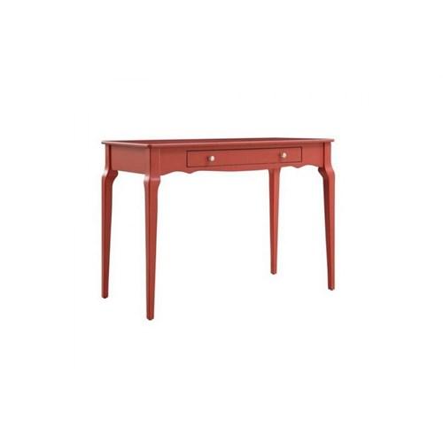 Woodenbend Bonamy Kırmızı Çalışma Masası