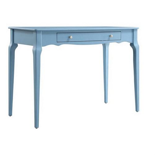 Woodenbend Bonamy Mavi Çalışma Masası