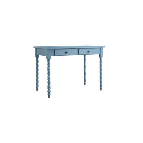 Woodenbend Belda Mavi Çalışma Masası (80X120)