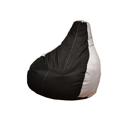 Pufumo Taraftar Armut Koltuk ( Siyah - Beyaz )