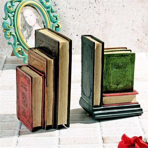 İhouse Polyesterden İmal Kitap Figürlü Kitap Tutacağı 22X21x10cm