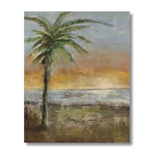 Ritmo-Kumsaldakı Palmıye Kanvas Tablo