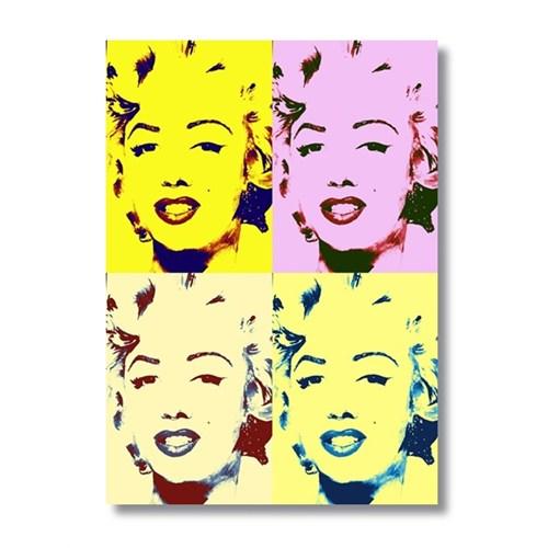 Ritmo-Popart Marılyn Monroe Kanvas Tablo